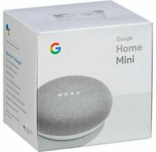Google Home Mini Smart Assistant - Chalk - New & Sealed