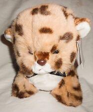 Vtg 1982 Gund Tamba Leopard Cheetah Kitten Cub Plush Stuffed Animal Tags Spots