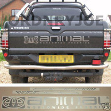 Mitsubishi L200 ANIMAL Worldwide Freeride tailgate decal