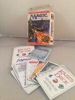 Magic The Gathering MTG: Ice Age Deskmaster Book, Zakk's Guide with cards boxed