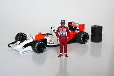 1/43 Ayrton Senna McLaren Honda figurine figure standing 1990 1991 1992 1993