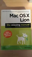 Mac OS X Lion: The Missing Manual by David Pogue (Paperback, 2011)