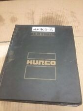 HURCO DISKETTE SET ULTIMAX 3 VERSION 1.23_4 DISKETTES_BMC 20-50/MD1 MACHINES