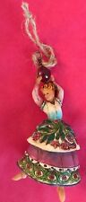 """5.5"""" T Lady Dancing Ornament Only Jim Shore 12 Days of Christmas Orn Set 4002364"""