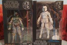 Star Wars The Black Series 6 inch Lot of 2 - Boba Fett &  Fett Prototype Armor