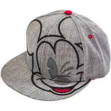 Disney Mickey Mouse Mens Womens Fashion Adjustable Snapback Hat/Cap Embroidered