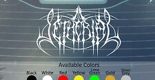 "SETHERIAL BIG SIZE VINYL DECAL STICKER 22.5"" WIDE CUSTOM COLOR"