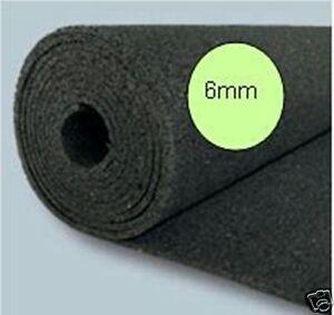 . 5 Rollen Bautenschutzmatten BM (1,25m x 10m = 12,5m²) Gummimatte, 62,5m²,6mm::