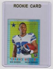 TERRANCE WILLIAMS Cowboys 2013 Topps Chrome 1959 Mini PRIZM REFRACTOR #23/50 SP