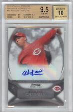 Aroldis Chapman Yankees 2010 Bowman Sterling Rookie Card rC BGS 9.5 Auto 10 Gem