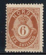 Norway 1871 Yv 20 Mlh Vf