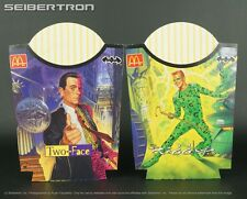 Batman Forever McDonald's French Fry Holders Riddler and Two Face 1995