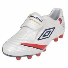 Umbro Speciali Anatomical Wht/Red/Nvy Socce Sz 12