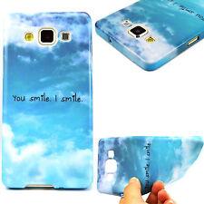 1x Silicona Resistente sonreír me sonrisa teléfono caso cubierta de diseño para LG G4