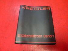 KREIDLER FLORETT RS MUSTANG MOPED MOKICK ersatzteillisten band 1