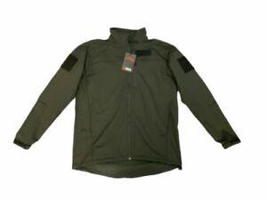 New Keela Zenith Pro Black Tactical Softshell Jacket Fleece KF03N
