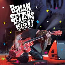 Brian Setzer - Rockabilly Riot: Osaka Rocka! - Live in Japan 2016 [New Blu-ray]