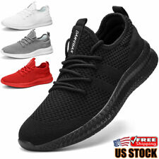 Mens Running Casual Shoes Lightweight Breathable Athletic Tennis Sneakers Walk