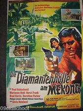 Diamantenhölle am Mekong - KINOPLAKAT A1 - Cave of Diamonds Brad Harris Horst Fr
