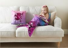 Reversible Sequin Mermaid Tail Blanket Ideal Gift For Kids - Pink