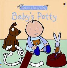 Baby's Potty (Usborne Baby's Day)-ExLibrary