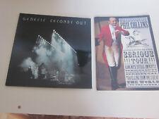 GENESIS ..33 TOURS ..2 LP  SECOND OUT . + PROGRAMME PHIL COLLINS SERIOUS TOUR