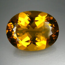 33.09ct Lemon Quartz 100% Natural Africa Nice Color Gemstone $NR