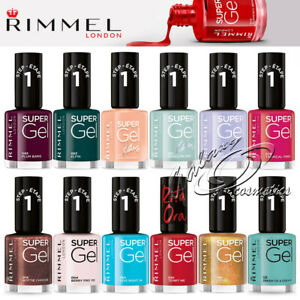 Rimmel Super Gel Nail Polish no UV light needed