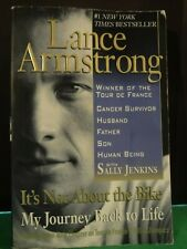 2001 IT'S NOT ABOUT THE BIKE: MY JOURNEY BACK TO LIFE|LANCE ARMSTRONG| PAPERBACK