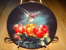 Romantic Flights Of Fancy Hummingbird, Summer Sonata, Hamilton Collection Plate
