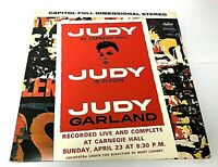 Judy Garland Live at Carnegie Hall Double LP Excellent Vinyl Capitol Records EX