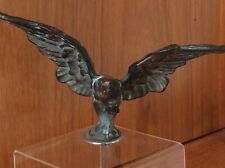 Vintage Bronze Eagle Car Mascot