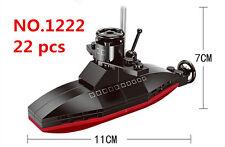 ENLIGHTEN 22 pcs MINI Blocks DIY Kids Building Toys Puzzle Submarine 1222