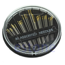 30PCS Mixed Sizes Thick Big Eye Assorted Needles Set Easy To Thread