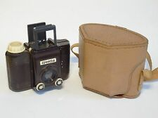 Excellent Midcentury Bakelite 6x6 format Druopta Prague EFEKTA camera with case
