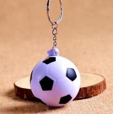 Creative Football Pendant Designed Keyring Keychain PU Foam Key Chain Gift