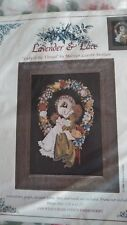 RARE Lavender & Lace KIT Lady of the Thread counted cross stitch KIT SEALED