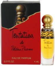 Tentations Par Paloma Picasso Pour Femme Mini Edp Splash Parfum 0.17oz Neuf