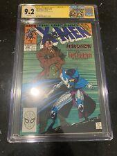 The Uncanny X-Men #256 CGC 9.2 SS By Chris Claremont 1st App Of New Psylocke