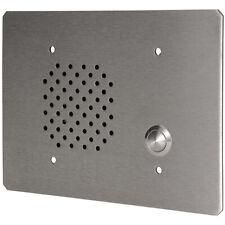 Quam Cis2/25 1W-25V 3-Gang Stainless Intercom Push Button Call-In Station