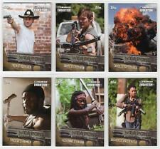Walking Dead Evolution WEAPONS Trading Card Insert Set (12 Cards)