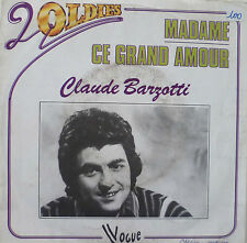 "7"" 70s VG +++! Claude bazotti: Madame + CE Grand Amour"