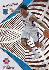 2018/19 Panini Revolution Basketball Sammelkarte,(Rookie) #124 Khyri Thomas