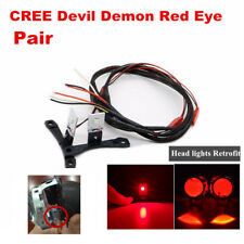 CREE Chips LED Devil Demon Red Eye Module For Projector Lens Headlights Retrofit