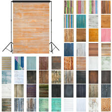Rustic Wood Photography Studio Backdrop Party Wall Photo Booth Props 7x5 feet