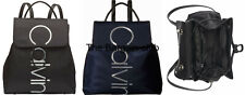 Calvin Klein Bag Mallory Nylon Black Backpack H8jke9hd