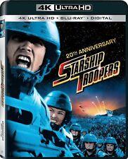 Blu Ray Ultra HD 4K STARSHIP TROOPERS  20th Anniversary. Region free. New.