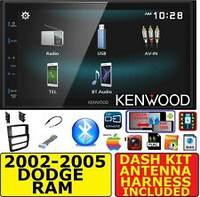 02-05 DODGE RAM JVC-KENWOOD BLUETOOTH USB SCREEN MIRROR CAR RADIO STEREO PKG