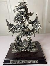 More details for tudor mint myth & magic 'flight of the dragons' #9036 collectors club rare