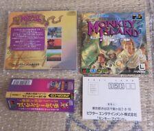 Japanese Game Sega Megadrive Mega-CD Monkey Island Near Mint Shape !